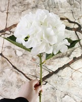 Magic Touch Artificial Latex hydrangea flower stem buy latex flowers China artificial flowers wholesale