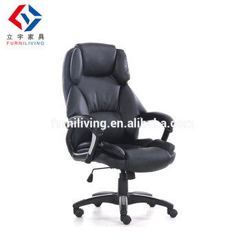 classic office chair. Puffy PU Leather Classic Office Chair With Rotate For H