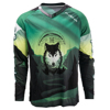 Breathable long sleeve MTB bike bicycle MTB shirts custom cycling jerseys no minimum