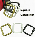 Hot Sale 1Pcs Aluminium Alloy Carabiner Bag Outdoor Hook Mountaineering Carabiner Backpack Buckle