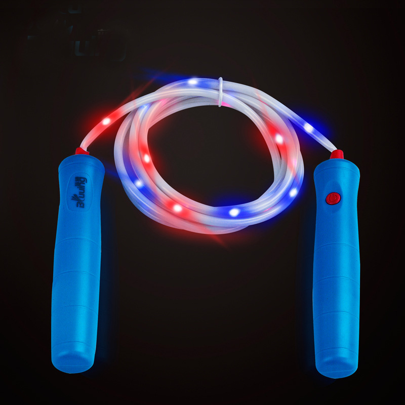 New Arrival 3M Fitness LED Light Jumping Rope Speed Jumping Skipping Rope