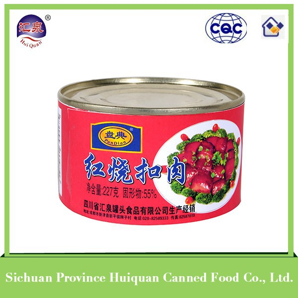 Wholesale from china premium ham luncheon meat canned stewed pork meat