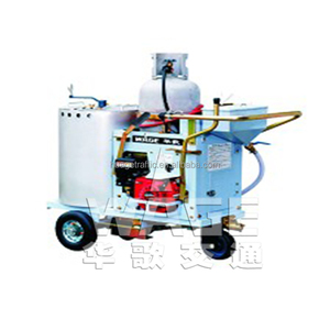 Self Propelled Thermoplastic Road Marking Line Paint Machine