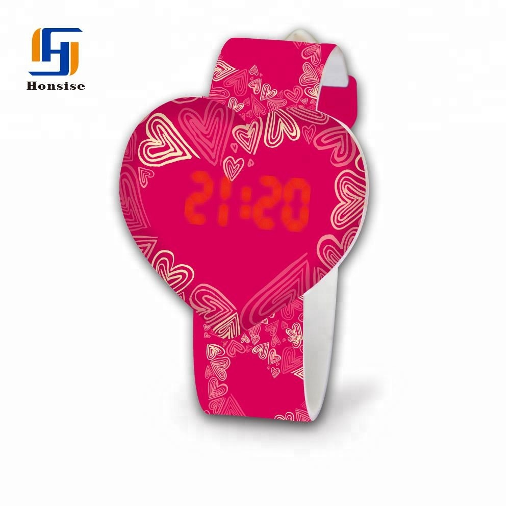 Chinese Cheap Silicone Custom Logo Fancy Ladies Watches
