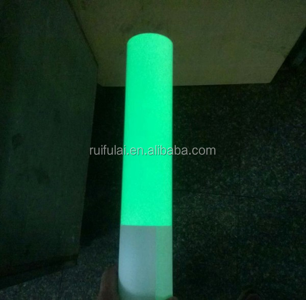 China high visibility long lighting time good warning effect luminous paper