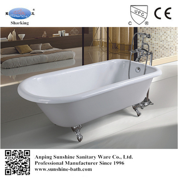 baby bath tub small freestanding pink color classical roll top bathtub buy roll top bathtub. Black Bedroom Furniture Sets. Home Design Ideas