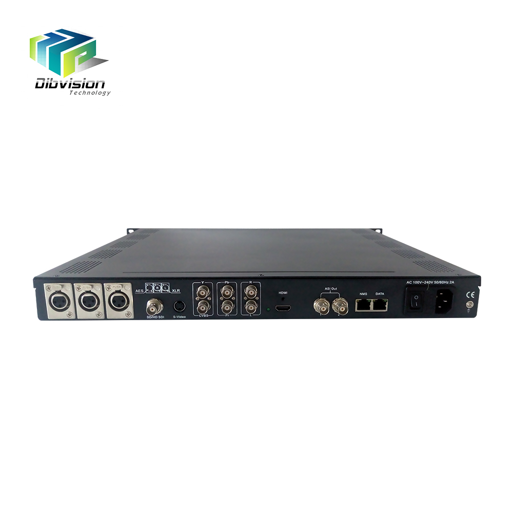 Eccellente singolo canale SD/HD ip video encoder h.264 con la RCA, XLR, HD MI, AES e EBU audio interfacce di input