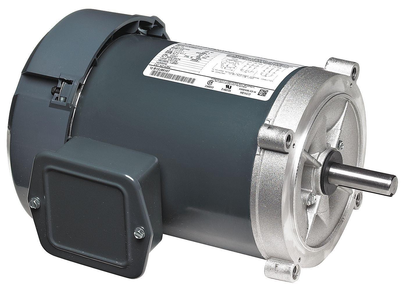 Marathon Electric / Regal Beloit - 56T34F5321 - 1/2, 1/3 HP Jet Pump Motor, 3-Phase, 3600 Nameplate RPM, 208-230/460 Voltage, 56C Frame