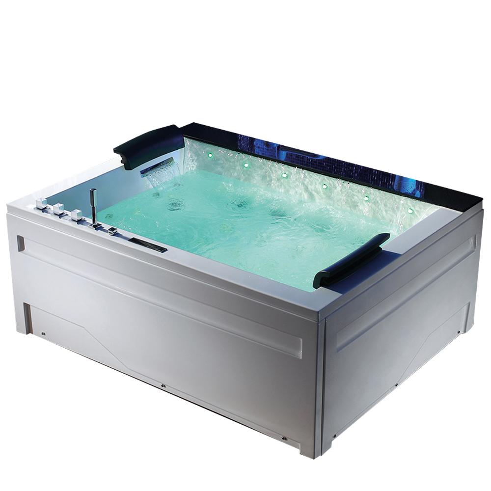 Hs Bc653 Bubble Bath With Led Multicolor Light Whirlpool Badewanne