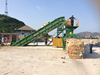 CE certificated Horizontal waste scrap Corrugated Carton Baler