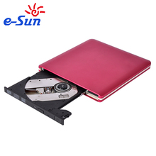 Factory OEM portable 2.5' SATA to USB 3.0 External DVD Drive ROM Writer