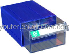 plastic drawer storage box stackable storage bin for spare parts