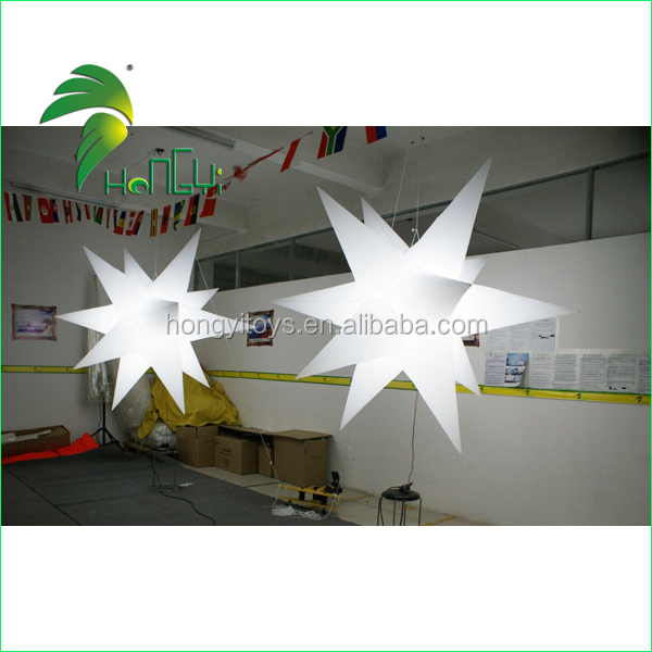 White LED Five-Pointed Lighted Star For Decoration