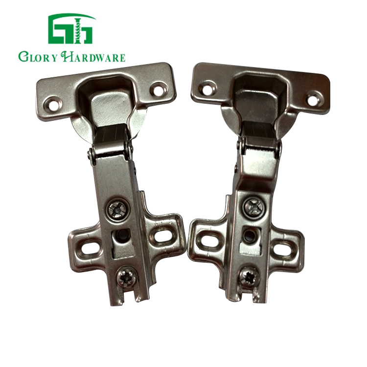 China hardware conceal wooddoor hinges furniture hinge 35mm Cup One Way cabinet hinge used on cabinet