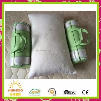 shredded memory foam pillow king original bamboo neck back and body pain