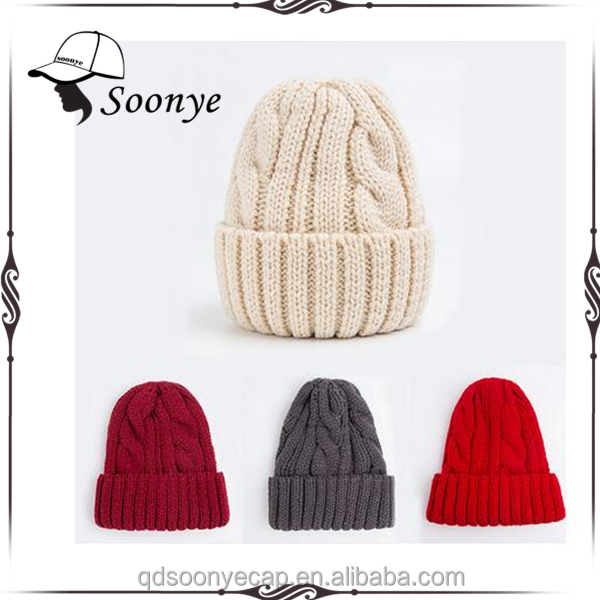 27794ebcceb Knit Ribbed Hat