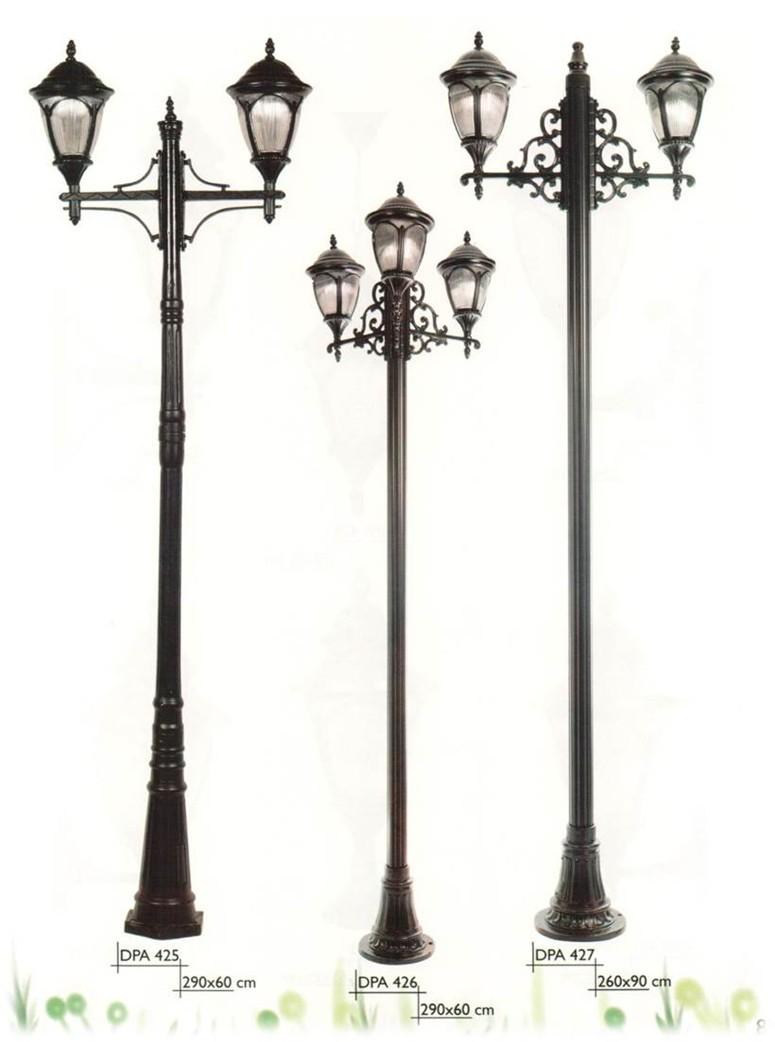 Decorative Light Poles antique design handmade ip65 outdoor street light pole - buy
