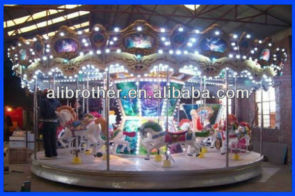 amusement park backyard fairground merry go round carousel for sale