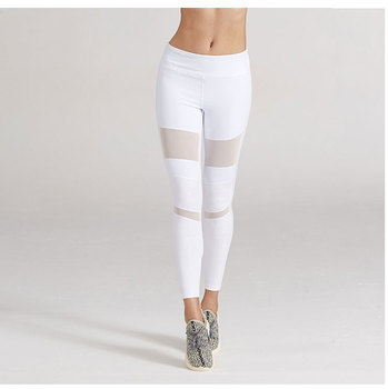 Fashion Yoga Dress Pakaian Mesh Yoga Celana Wanita Excerice Legging Putih Celana Buy Putih Celana Yoga Gaun Mesh Yoga Celana Product On Alibaba Com