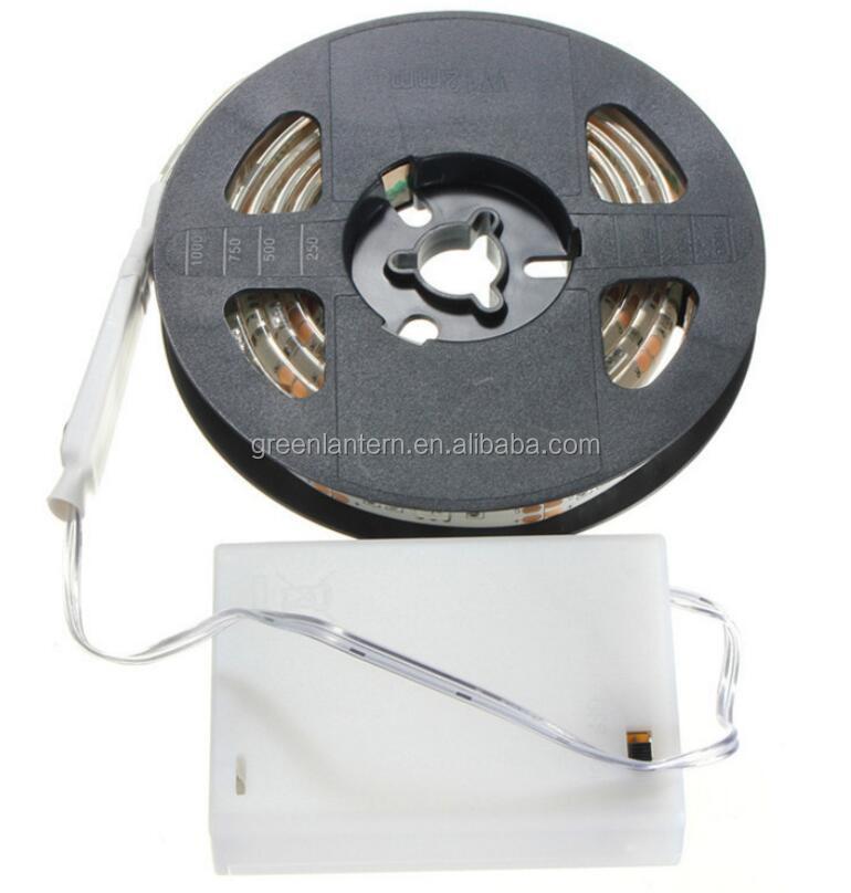3 6 v usb batteriebetriebene wasserdichte led flexible streifen beleuchtung led streifen lichter. Black Bedroom Furniture Sets. Home Design Ideas