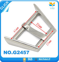 2015 cold design ladder-shaped metal insert buckle wholesale
