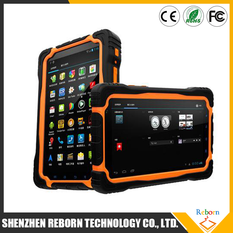 3G MTK6589 Quad Core 1.5GHZ NFC FRID Rugged Tablet PC IP67