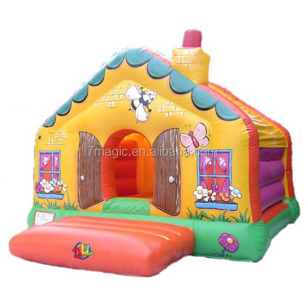 Inflatable Cottage Party Bounce