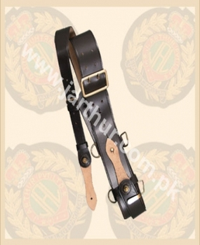 Sam Browne Belt with Frog