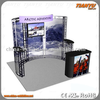 Light Frame Truss Led Dj Booth Stand Stage