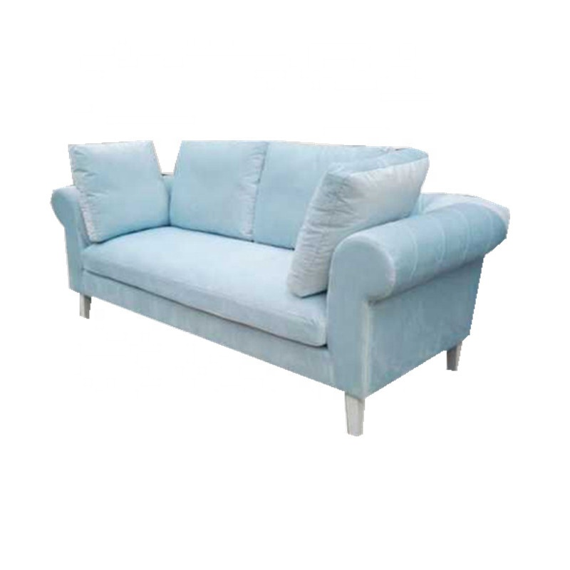 Sky Bule Fabric Of Luxury French Romantic Style Chaise Lounge Sofa Bed -  Buy Chaise Lounge Sofa Bed,Change Sofa Fabric,Sofa Cum Bed Designs Product  on ...