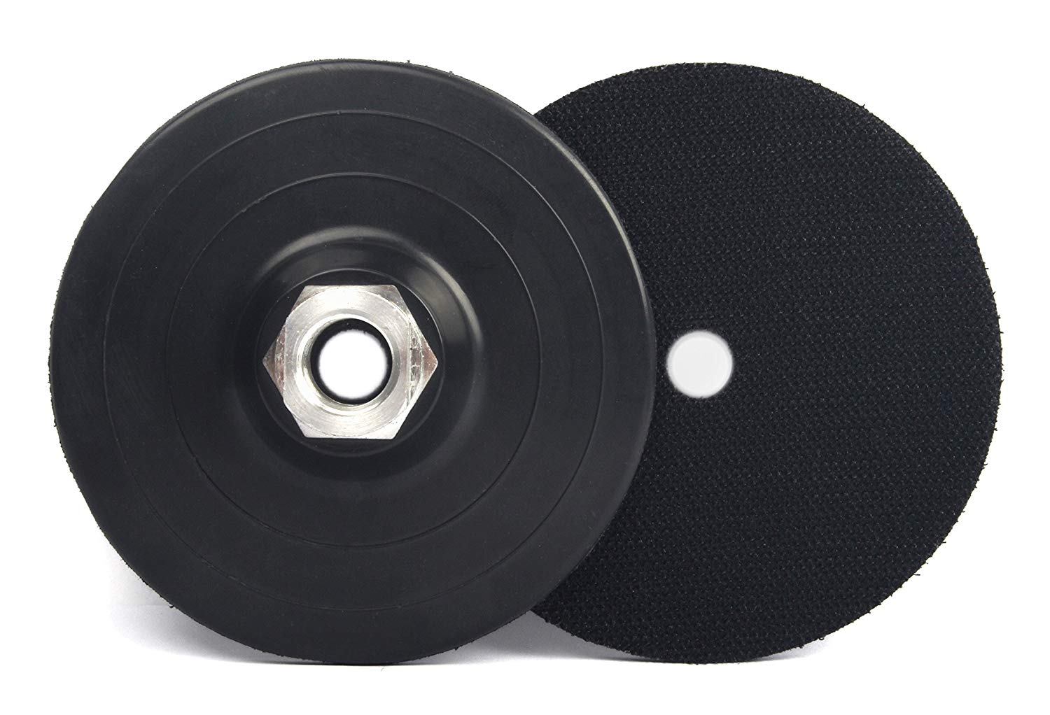 "4"" Backer Pads / Backing Pads with Arbor 5/8""-11 for Dry Wet Diamond Polishing pads by Z-LION(2-Pcs/Lot)"