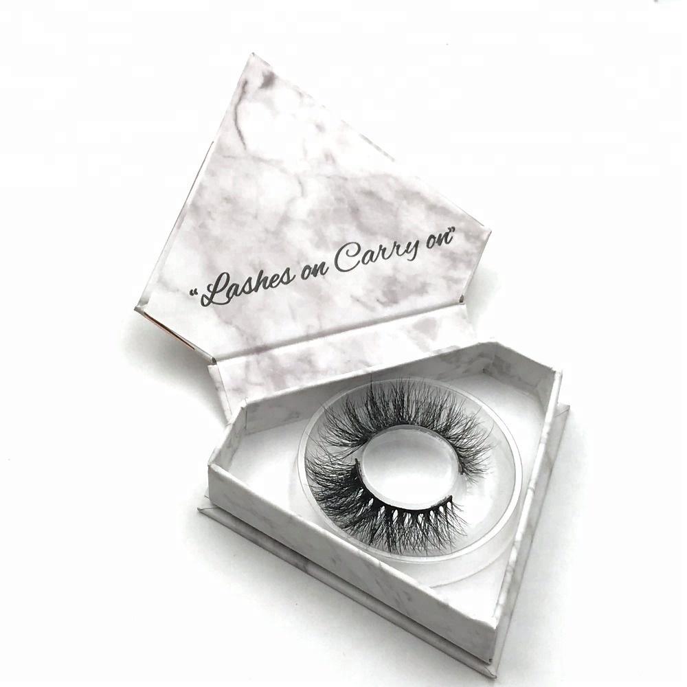 0e345e2f58a Private label 3D mink lashes false eyelash packaging box