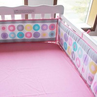 kids crib liner bumper for baby