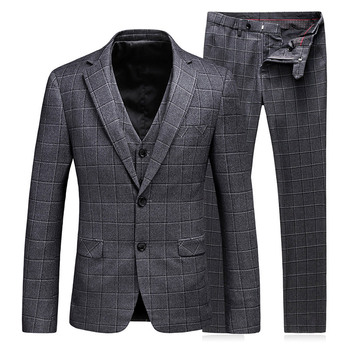 Wholesale Modern Fashion Design Mens Italian Suits For Men High Quality  Tweed Checked Men Suit - Buy Tweed Checked Men Suit,High Quality Men