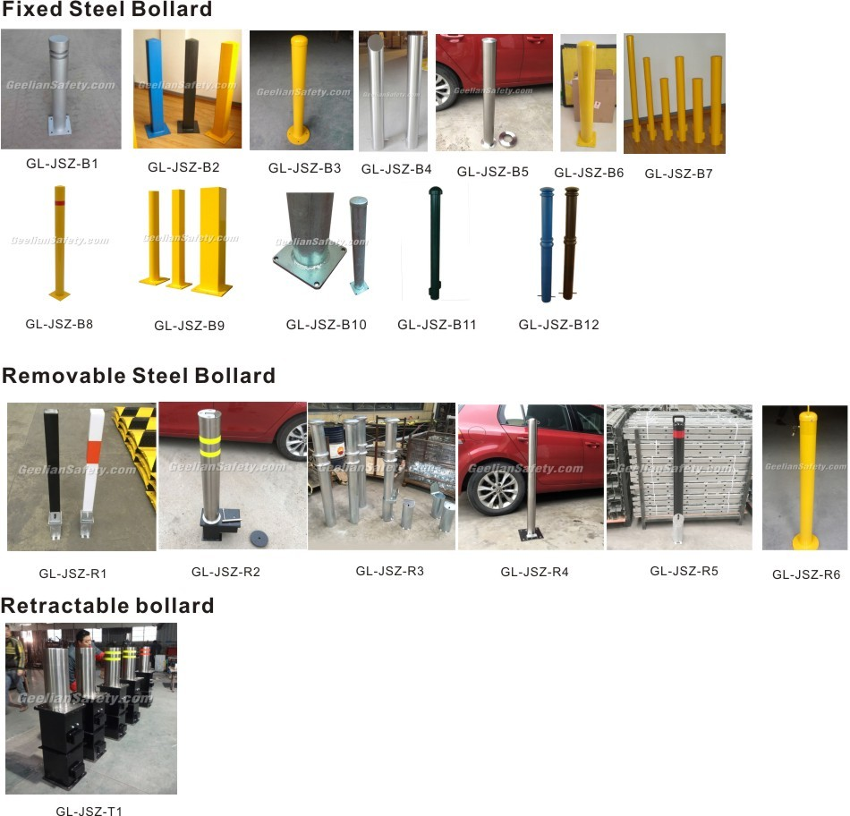 USA and Canada Pipe Bollard Covers for stainless steel bollard