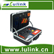 Deluxe Fiber Optic Fusion Splicing Tool Kit for cable sheath removal and fusion splicing