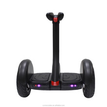 Newest remote control two big wheels hoverboard stand up scooter with cool appearance