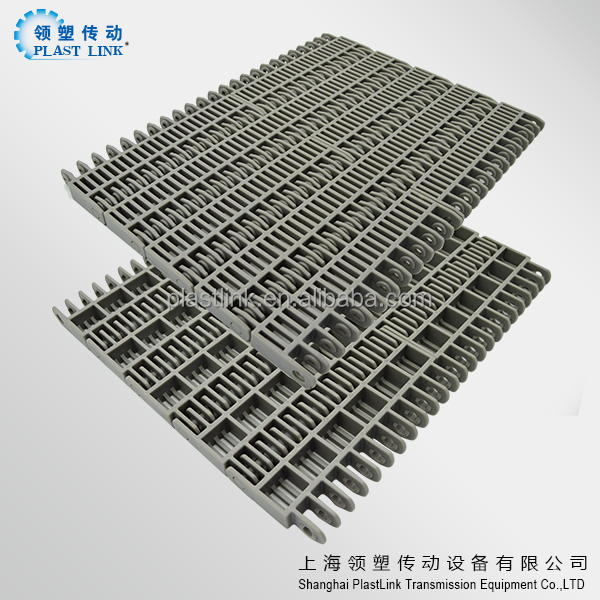 Plast Link 620A battery industry Flat transmission conveyor plastic modular belt