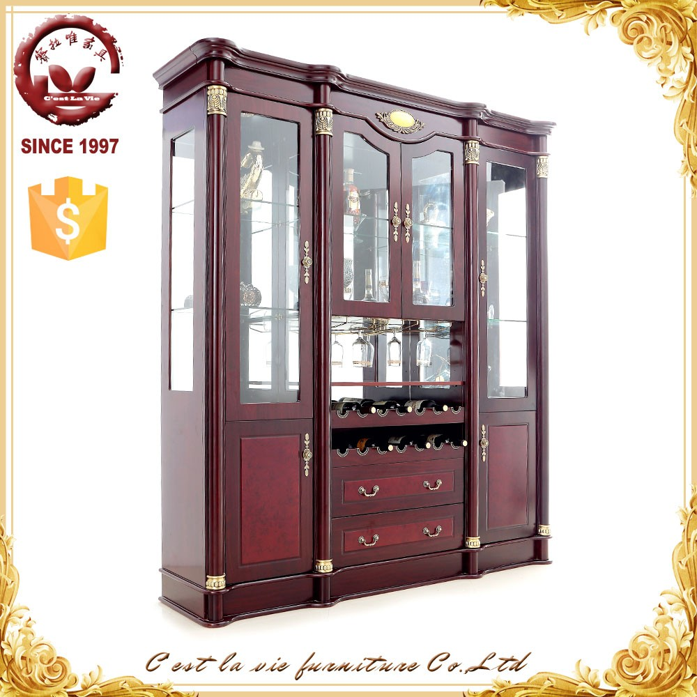 Home Furniture Living Room Glass Door Liquor Wine Display Cabinet. Amazing Living Room Design With Glass Cabinets Using White Finish
