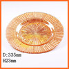 cheap hotel restautent supplier glass dessert plates