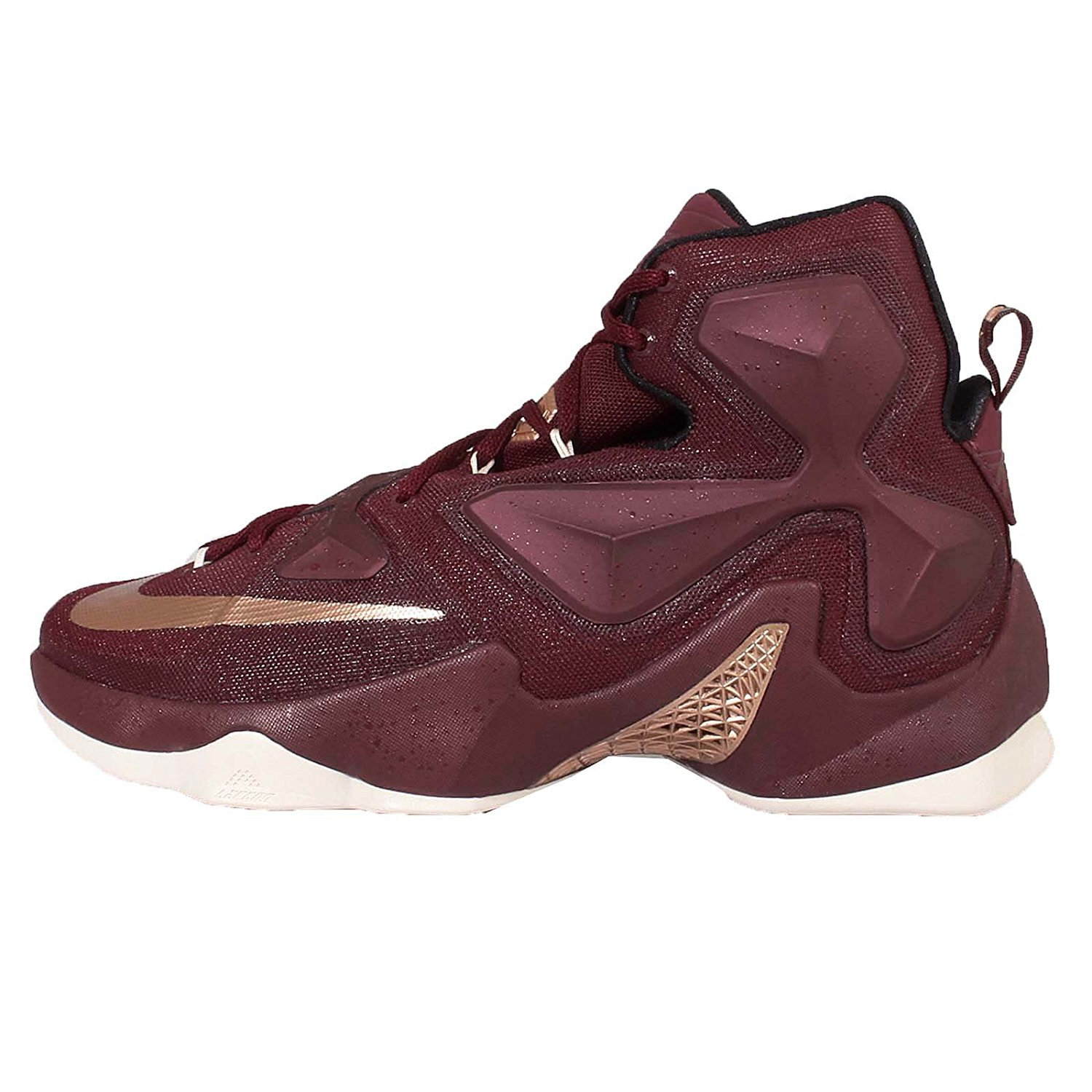 sale retailer a8db3 cee81 Get Quotations · Nike Men s Lebron XIII EP, TEAM RED MTLC RED BRONZE-BLACK -SAIL