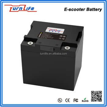 Rechargeable 72V 80Ah battery for e-scooter