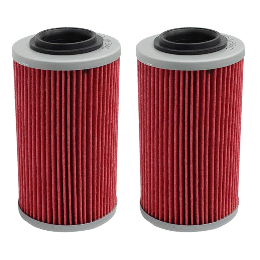 Cyleto Oil Filter for APRILIA ETV1000 ETV 1000 CAPONORD 1000 2001 2002 2003 2006 2007/RST1000 RST 1000 FUTURA 1000 2002 2004 (Pack of 2)