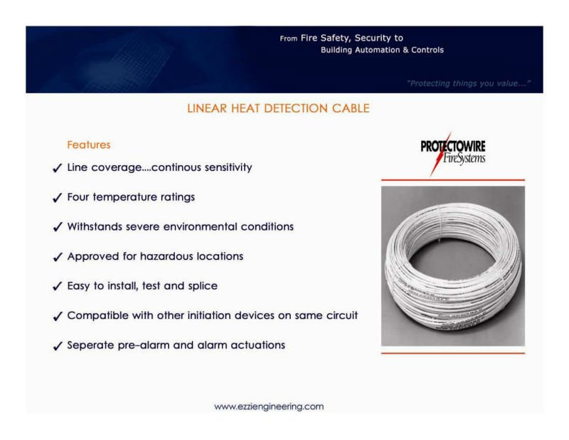 Heat Detection Cable, Heat Detection Cable Suppliers and ...