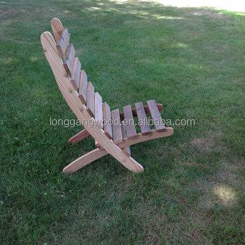 chaise pliante plage bois