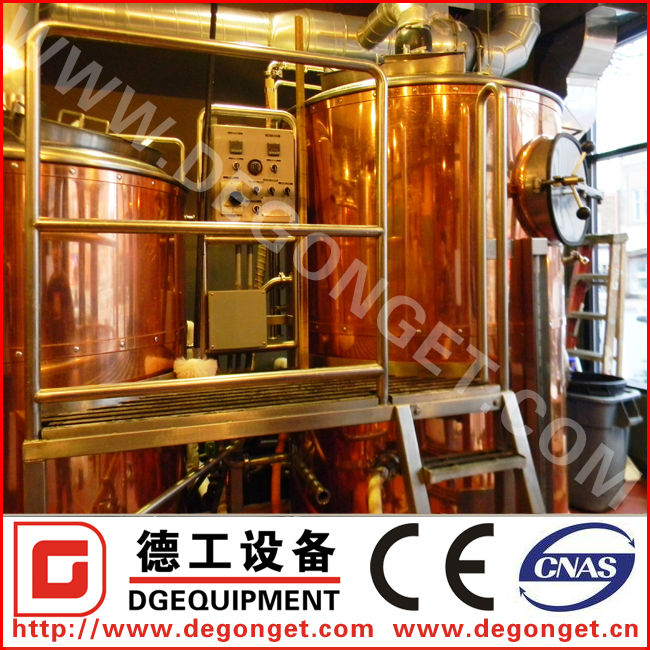 5 bbl pub beer brewery equipment for sale/ copper distillery equipment
