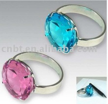 Crystal Ring Paperweight CP27