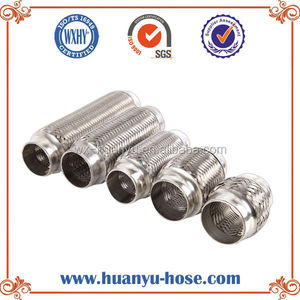 Auto parts exhaust muffler and tips