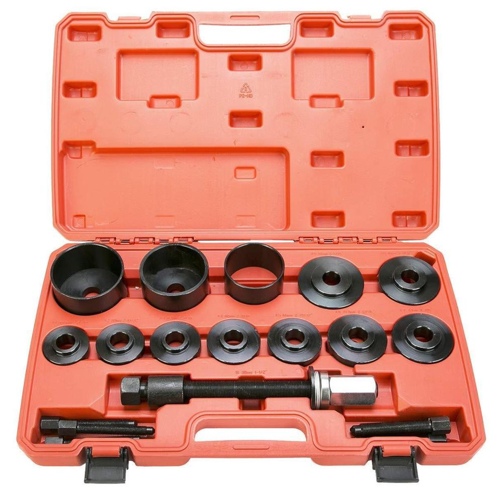 DNT for Auto Tools of Universal Front Hub&Bearing Puller 19pcs Fwd Wheel Bearing Tool Kit