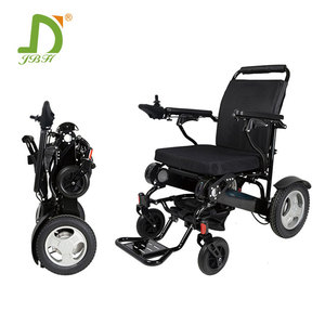 Heavy load aluminium alloy frame electric lightweight folding wheelchair